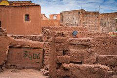 Kasbahviertel, vor Restaurierung