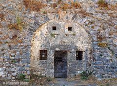 Kasematte in der Festung Agias Mavra