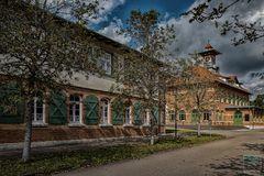 Kaserne aus Kaiser's Zeiten