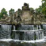 Kaskade vor dem Ludwigsluster Schloss