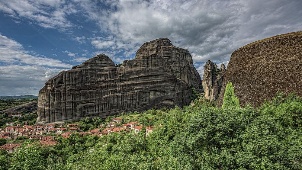 Kastraki und der heilig Geist Berg
