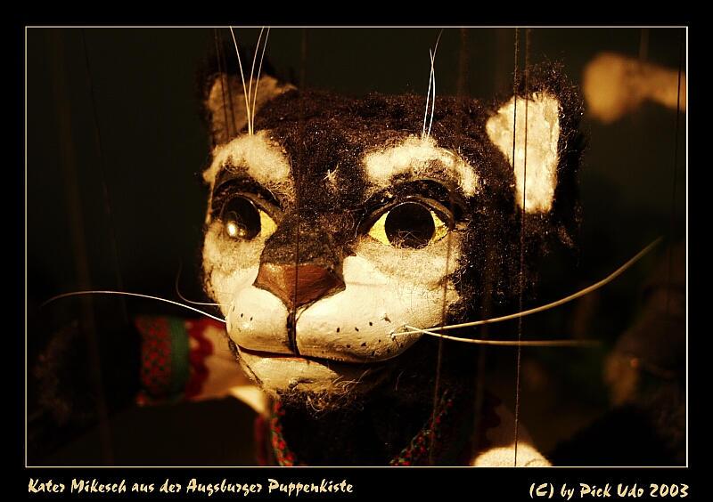 Kater Mikesch von der Augsburger Puppenkiste