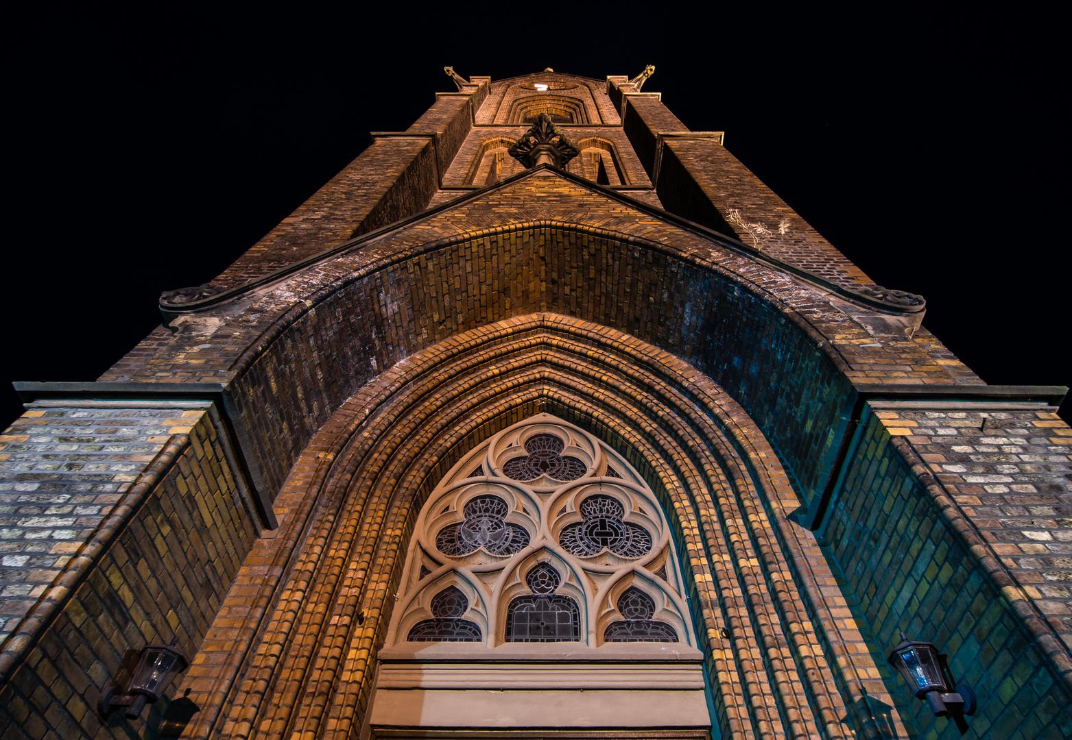 Kath. Kirche St. Nikolaus in Rheurdt / Niederrhein