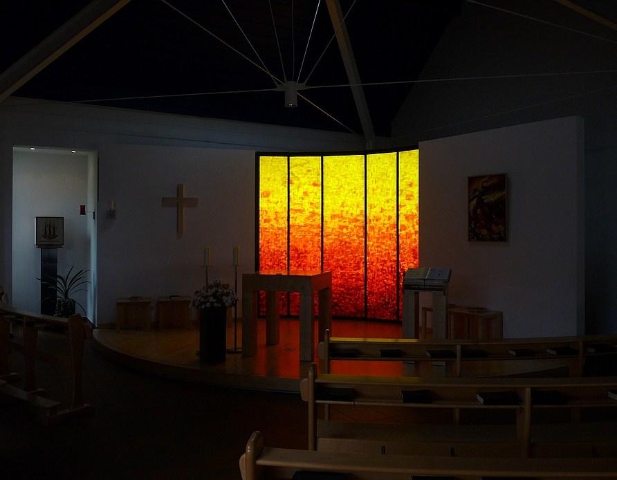 Kath. Kirche St. Willehad, Esens, Ostfriesland (2)