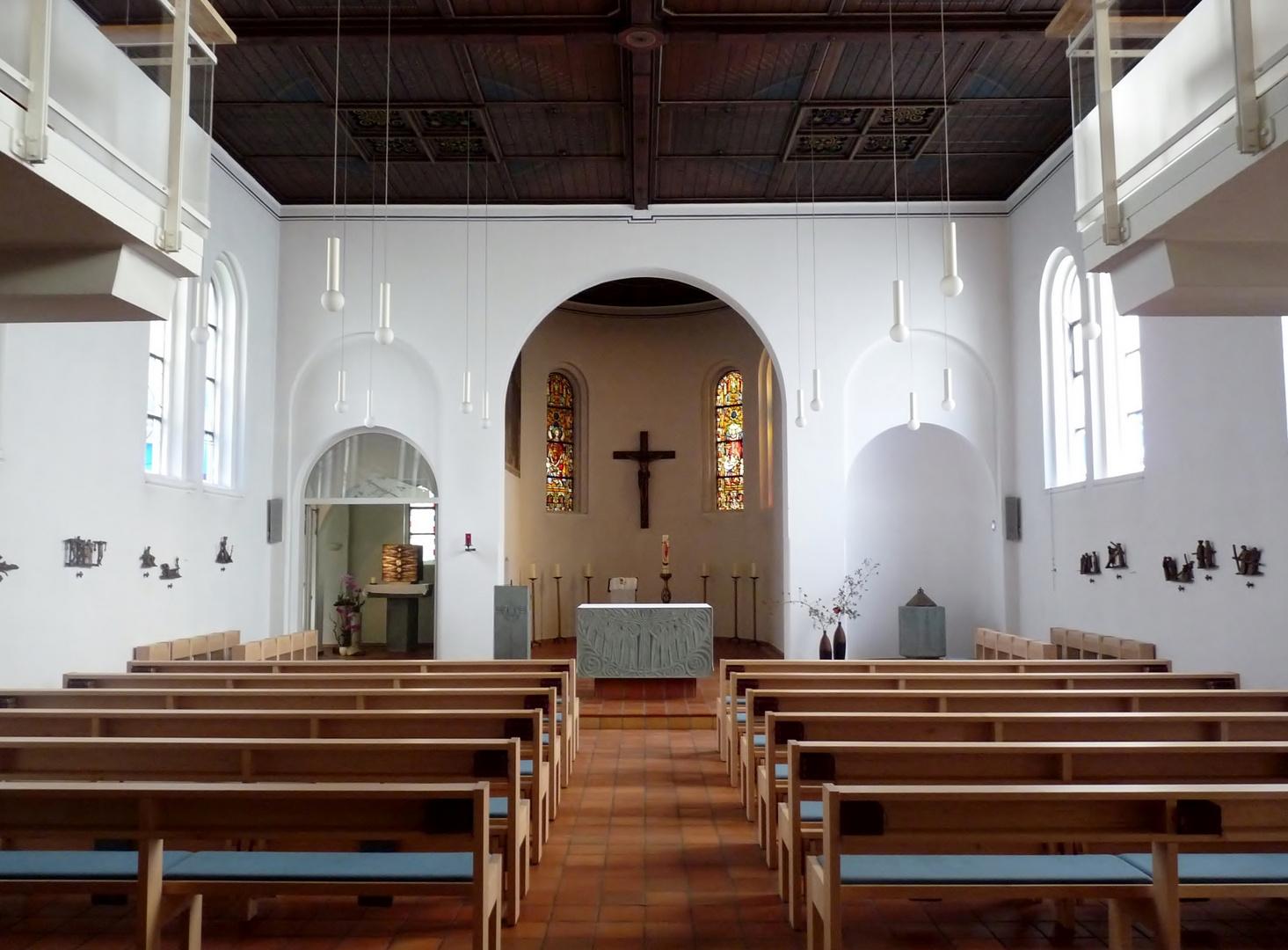 """Kath. Kirche """"Zu den hl. Schutzengeln"""", Insel Juist"""