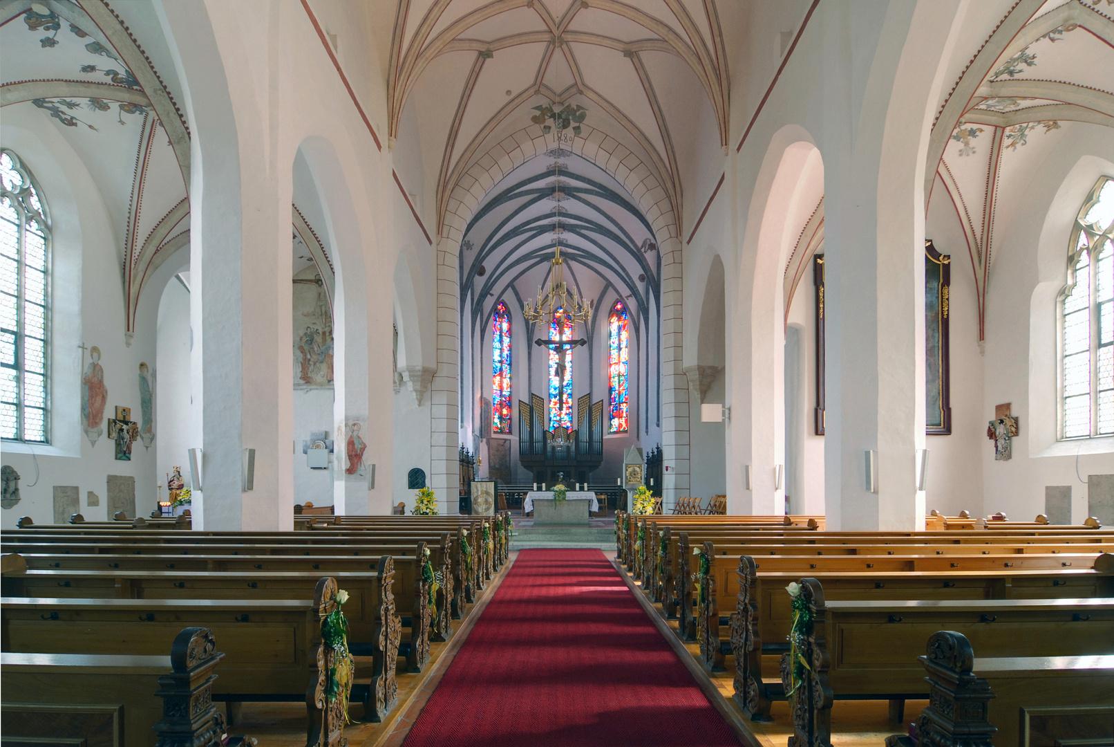Kath. Stadtpfarrkirche St. Johannes der Täufer, Rain am Lech