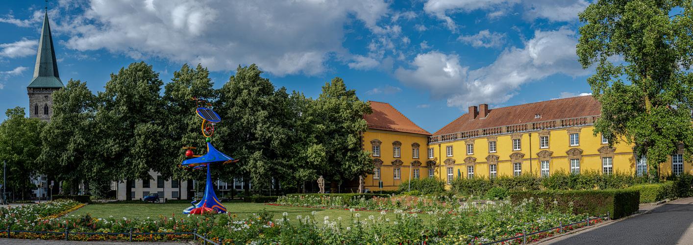 Katharinenkirche und Schloss