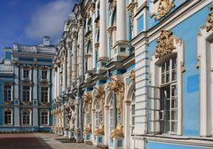 Katharinenpalast - Die Rückseite