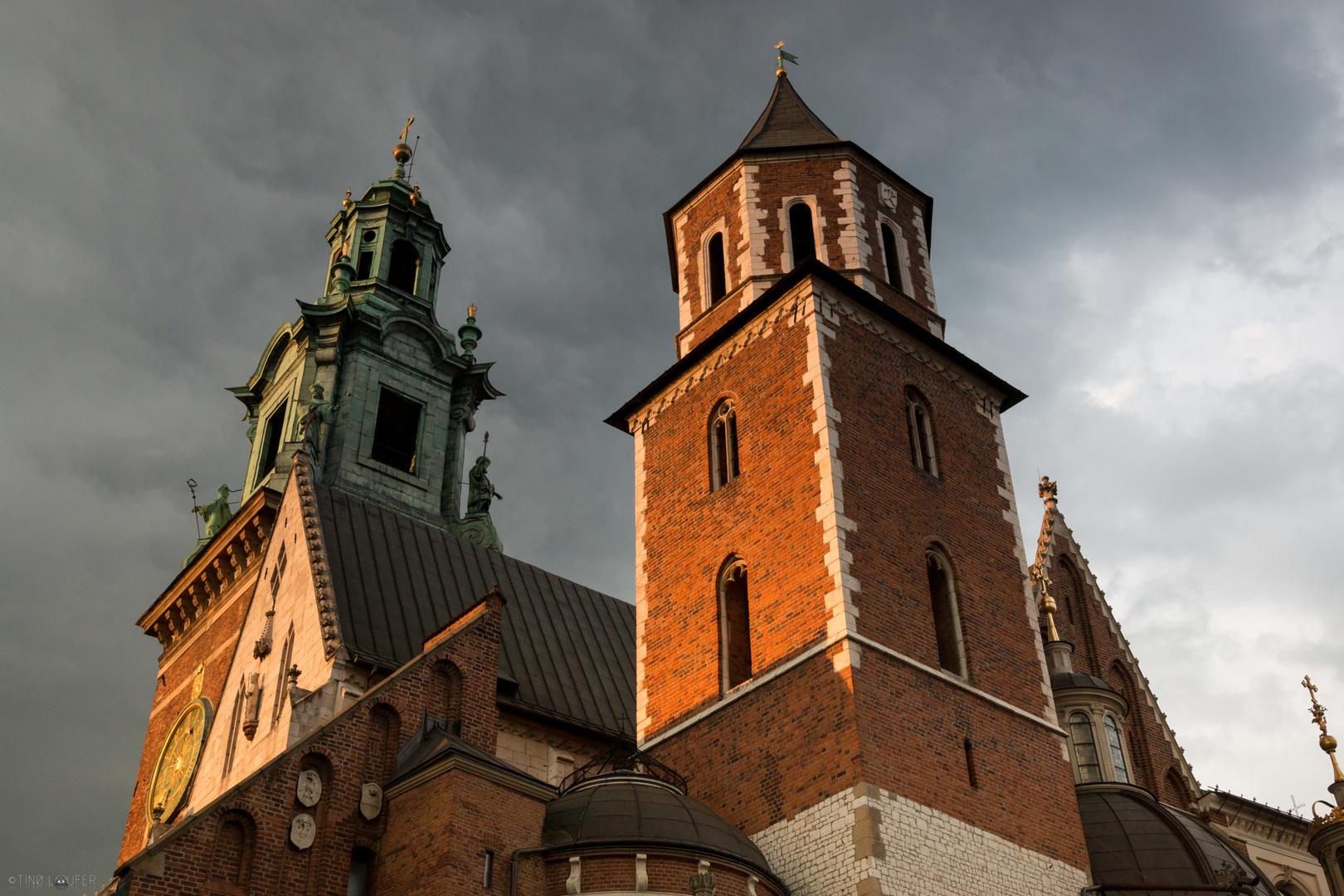 Kathedrale des Königsschloss Wawel in Krakau, Polen