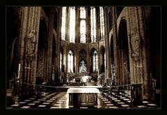 Kathedrale II (sepia)