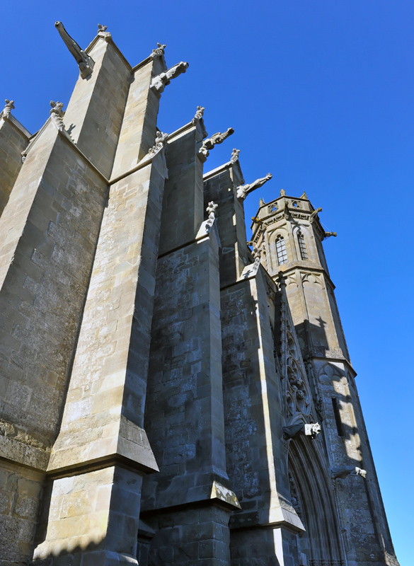 Kathedrale in Carcassonne
