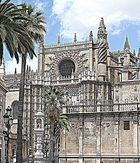 Kathedrale in Sevilla