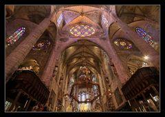 Kathedrale La seu - Innenansicht