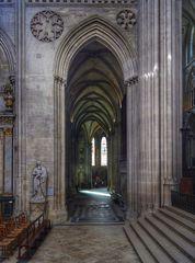 Kathedrale Notre-Dame de Bayeux Seitenschiff