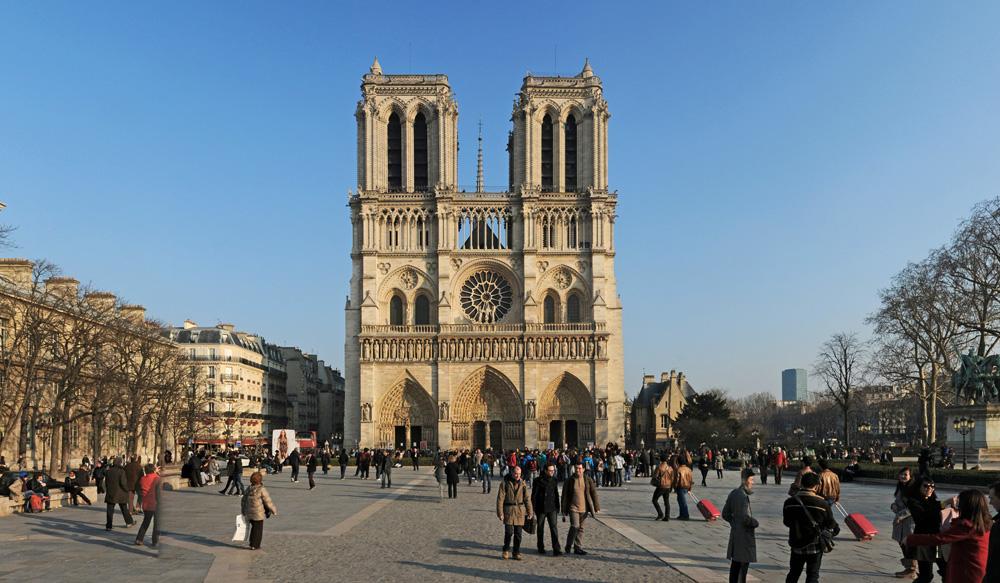 Kathedrale Notre- Dame de Paris Westfassade