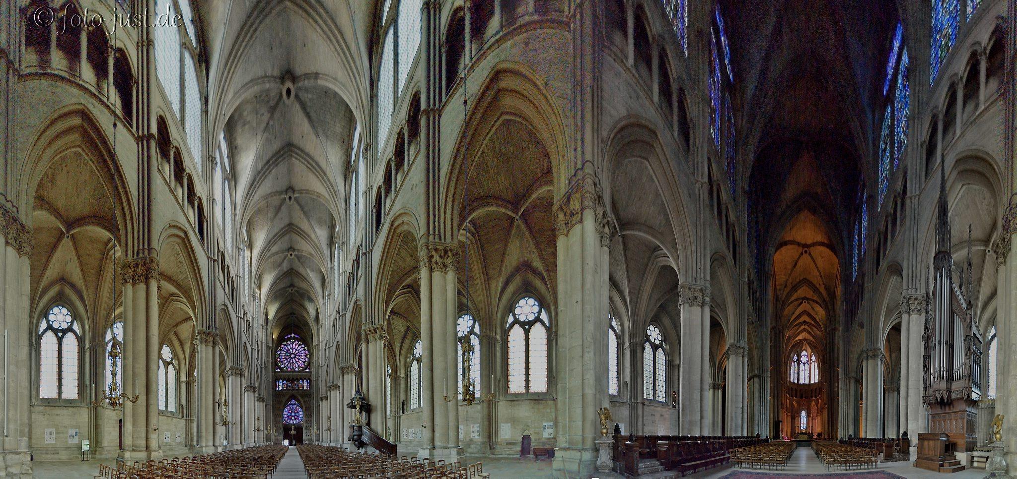 Kathedrale Notre-Dame de Reims Panorama