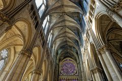 ... Kathedrale Notre Dame in Reims ...
