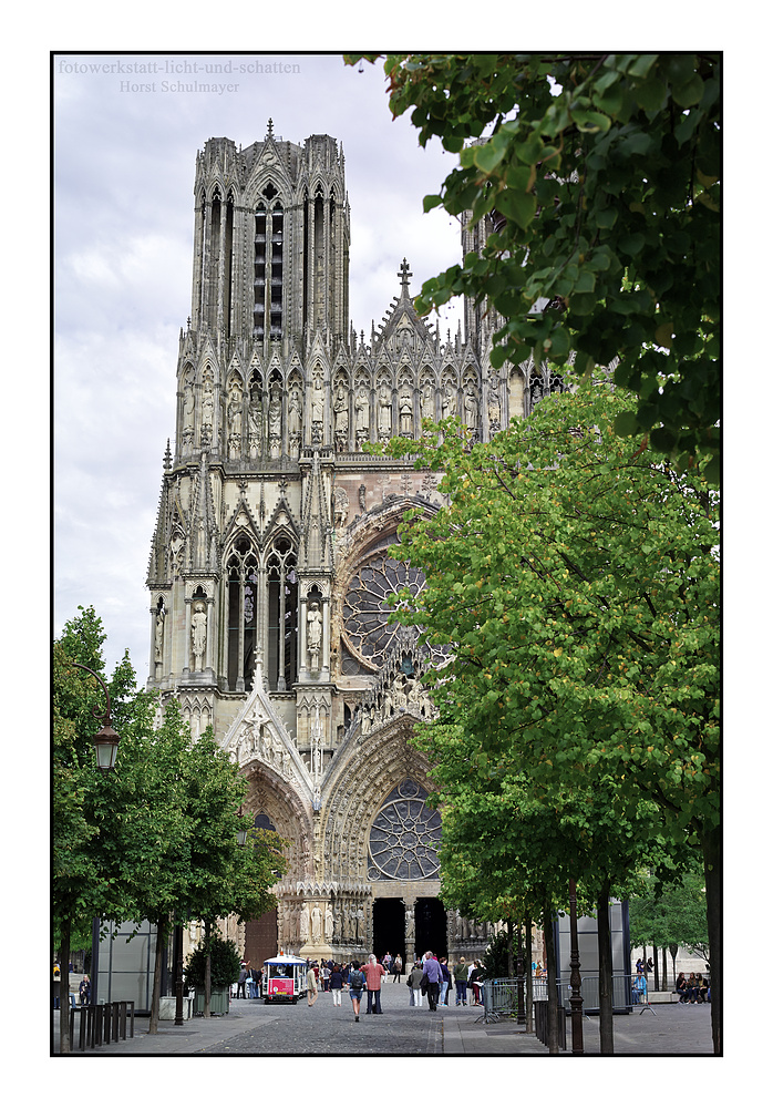 Kathedrale Notre-Dame, Reims
