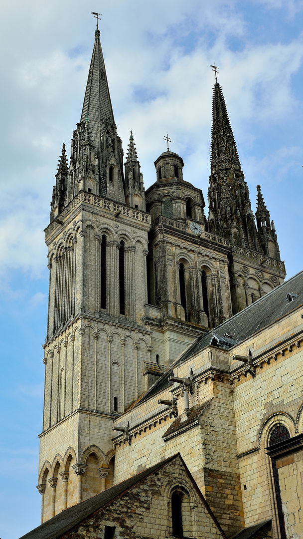 Kathedrale St-Maurice in Angers