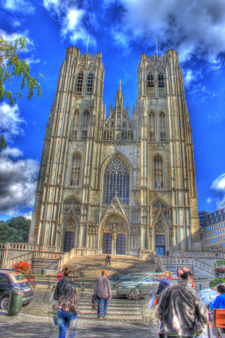 Kathedrale St. Michael in Brüssel