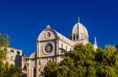 Kathedrale Sveti Jakov, Sibenik, Dalmatien, Kroatien