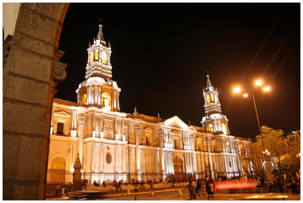 Kathedrale von Arequipa/ Peru