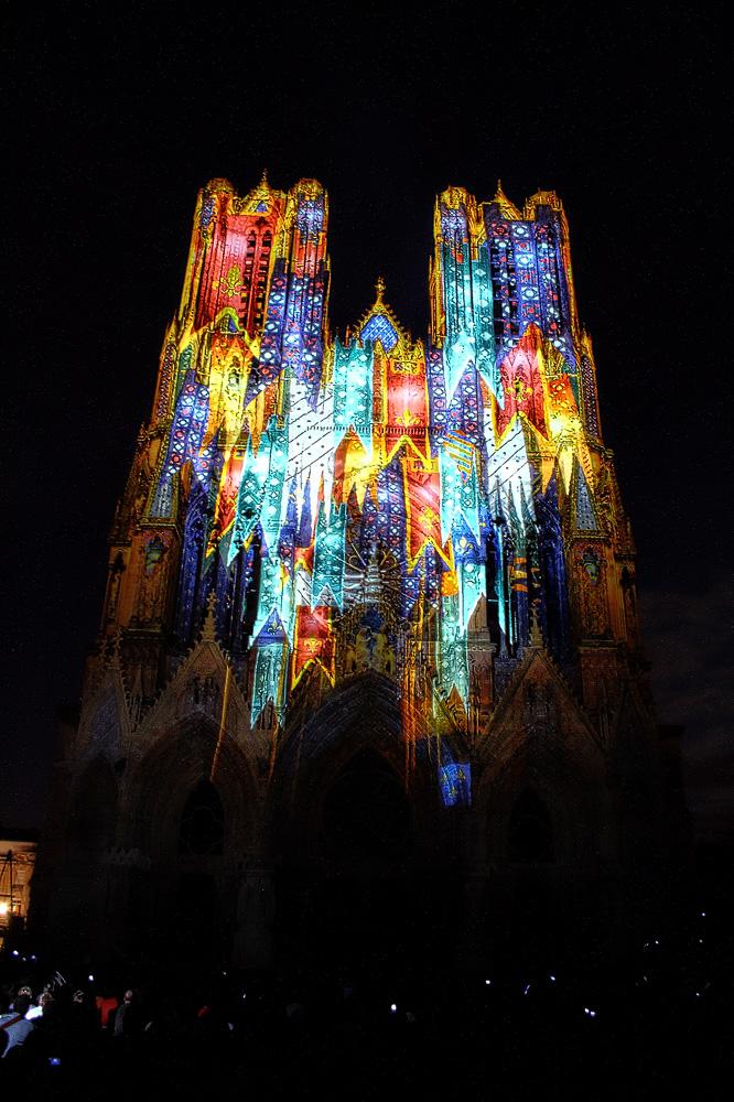 Kathedrale von Reims : 800 Jahren
