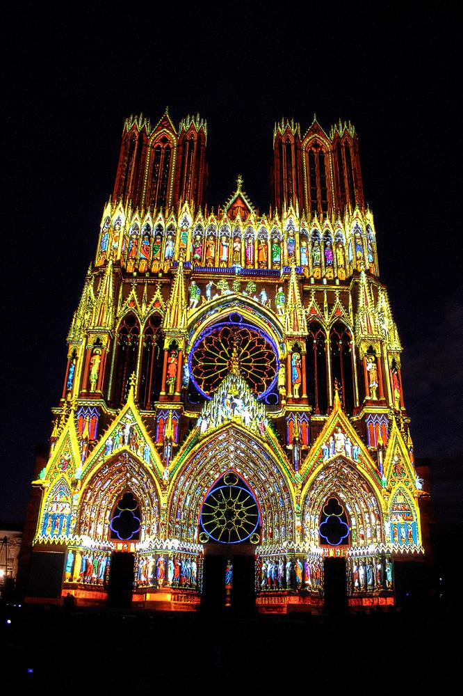 Kathedrale von Reims : 800 Jahren (2)