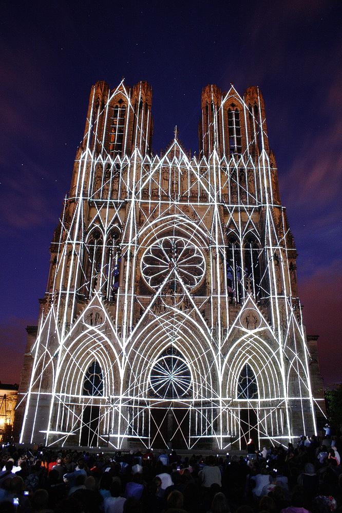 Kathedrale von Reims : 800 Jahren (3)