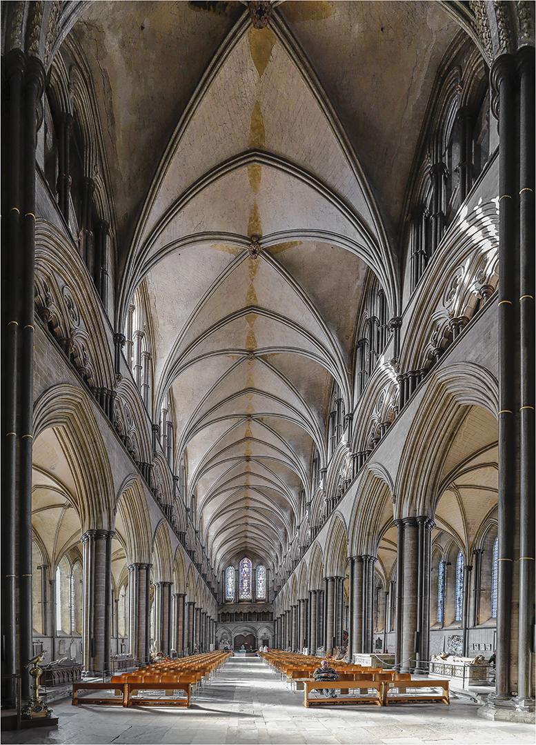 ... Kathedrale von Salisbury 4 ...