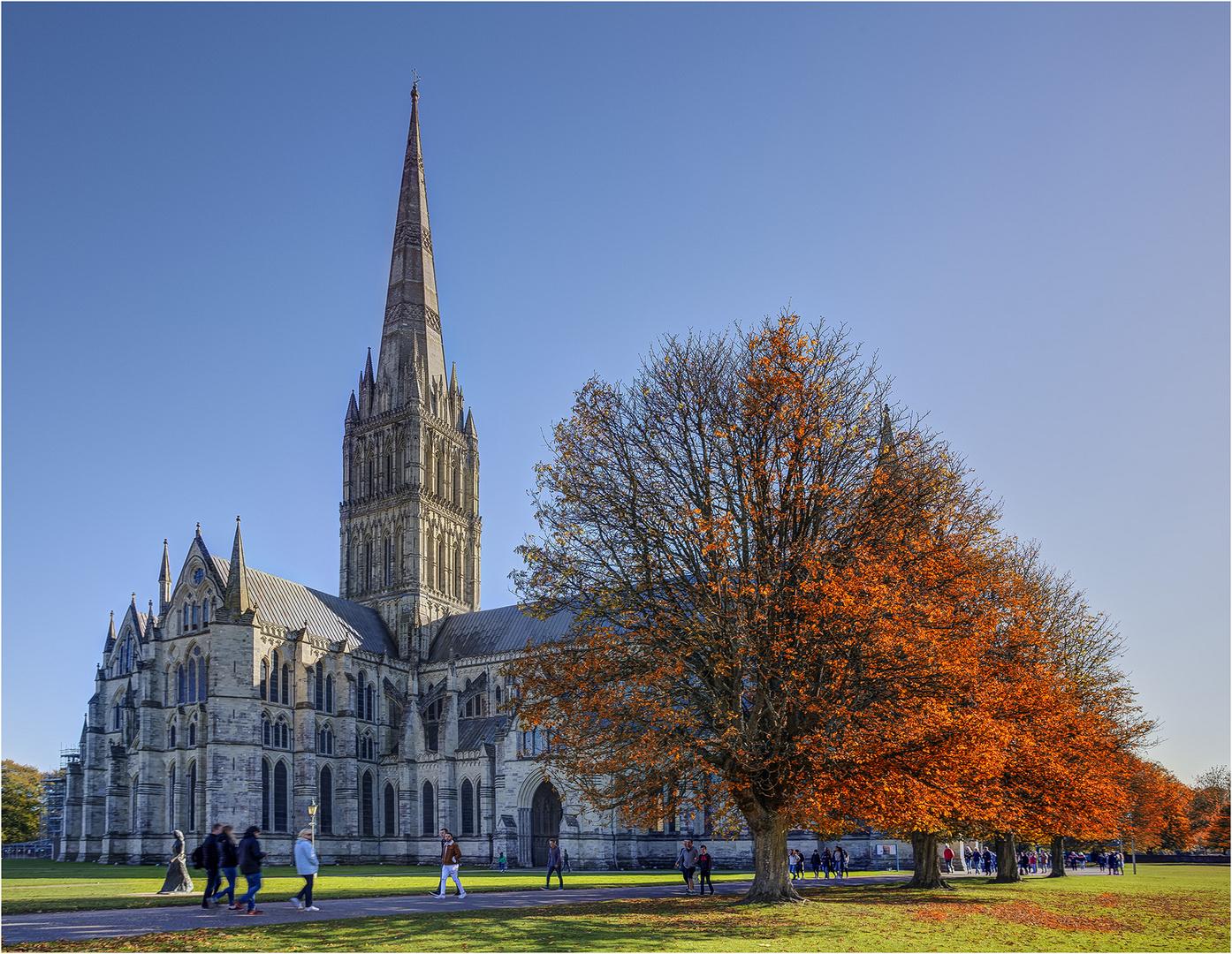 .. Kathedrale von Salisbury ...