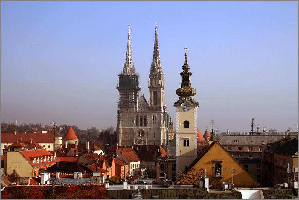 Kathendrale in Zagreb