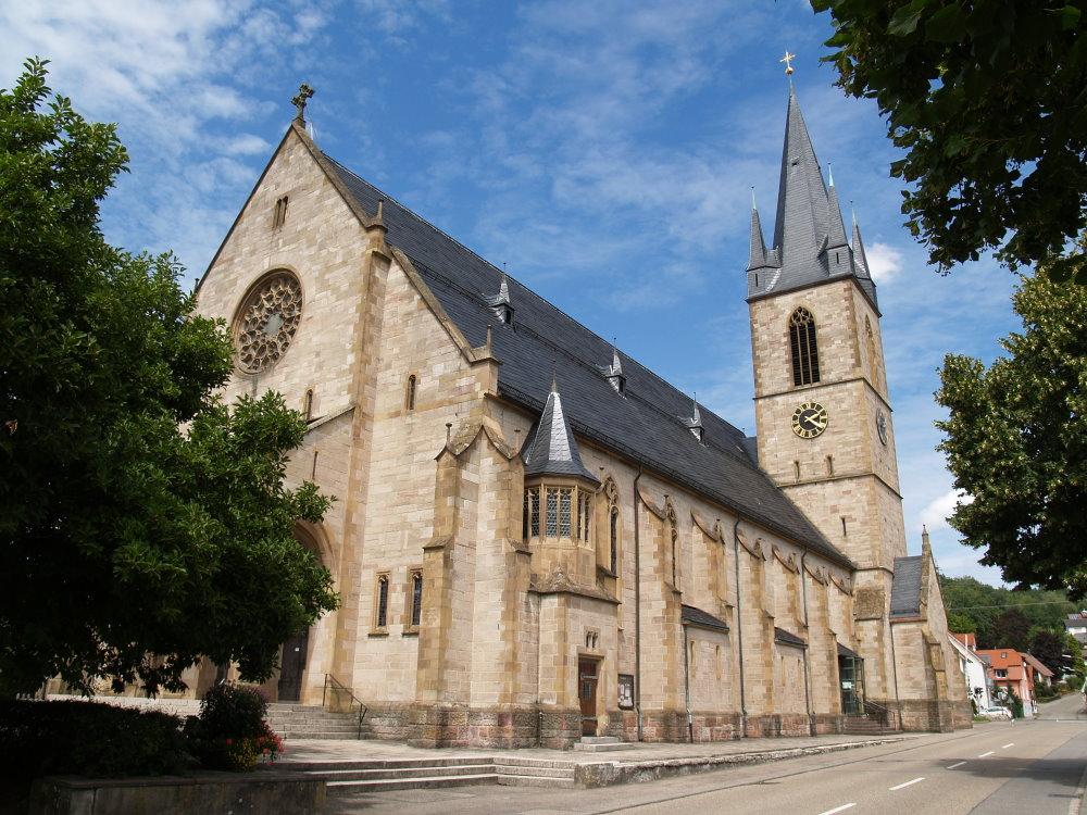 Katholische Kirche St. Jodok Ottenau