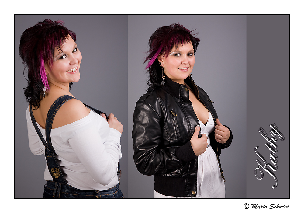 Kathy im Studio -1-