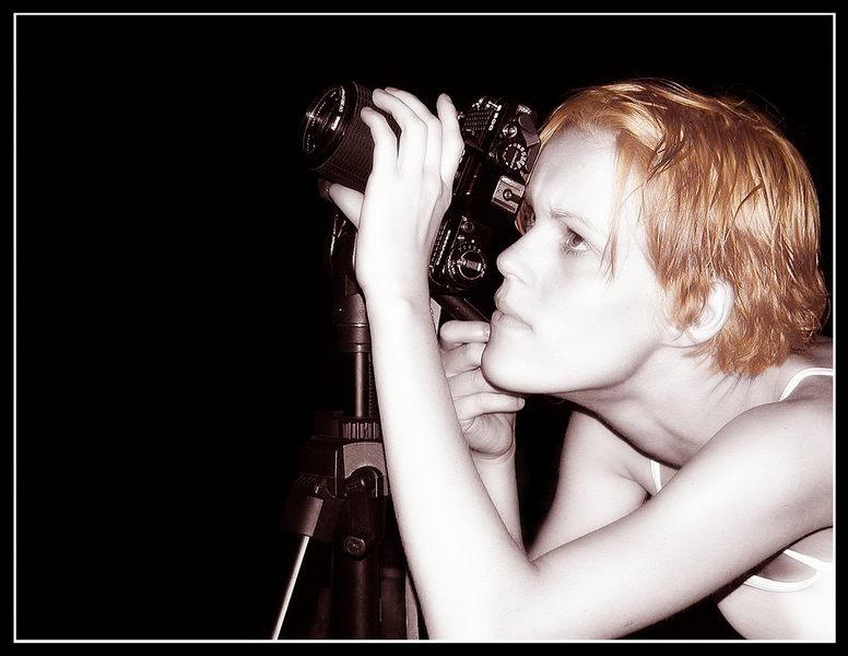 Katja auf der Suche