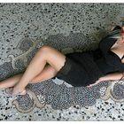 Katja on ground