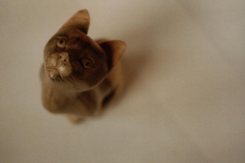 Katze aus Holz