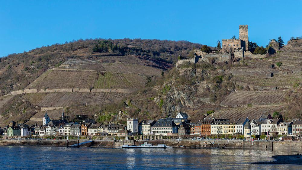 KAUB mit Burg Gutenfels
