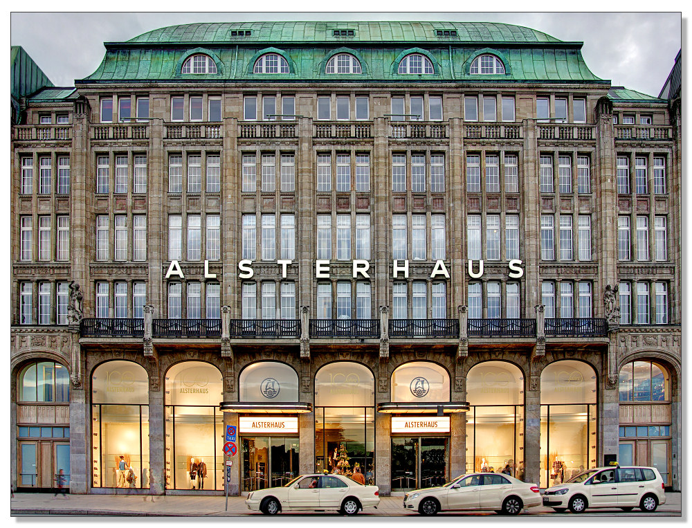 Kaufhaus - Fassade