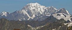 Kaum zu glauben das der Mont Blanc hier 70 km entfernt ist...
