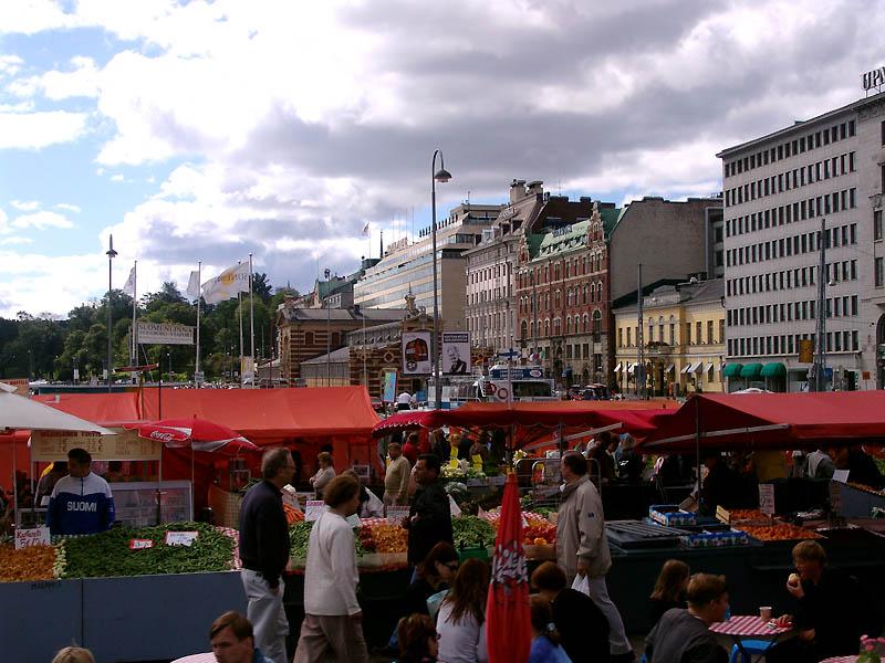 Kauppatori Markt Helsinki