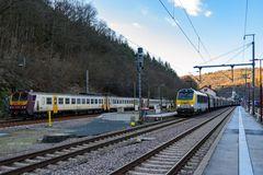 Kautenbach am späten Winternachmittag
