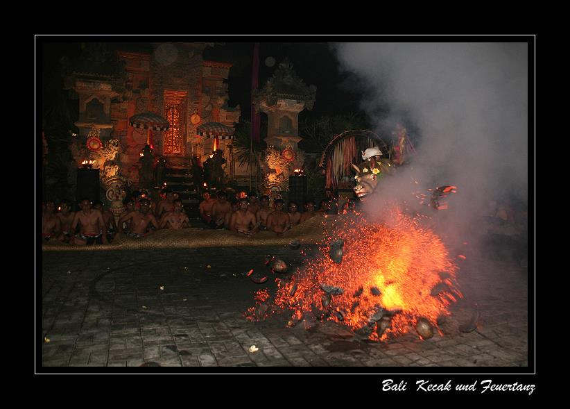 Kecak, Fire and Trance Dance