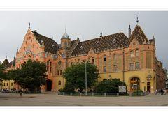 Kecskemet,  das Rathaus im ungarischen Jugendstil