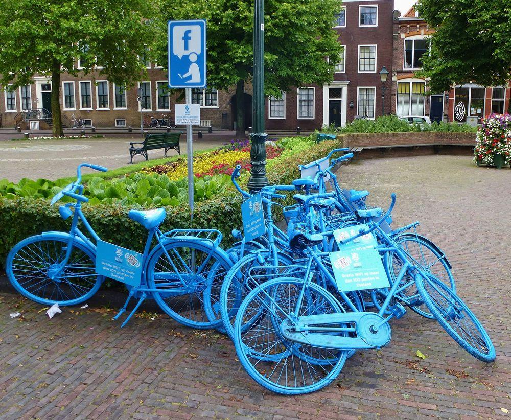 ... kein Fahrradverleih !