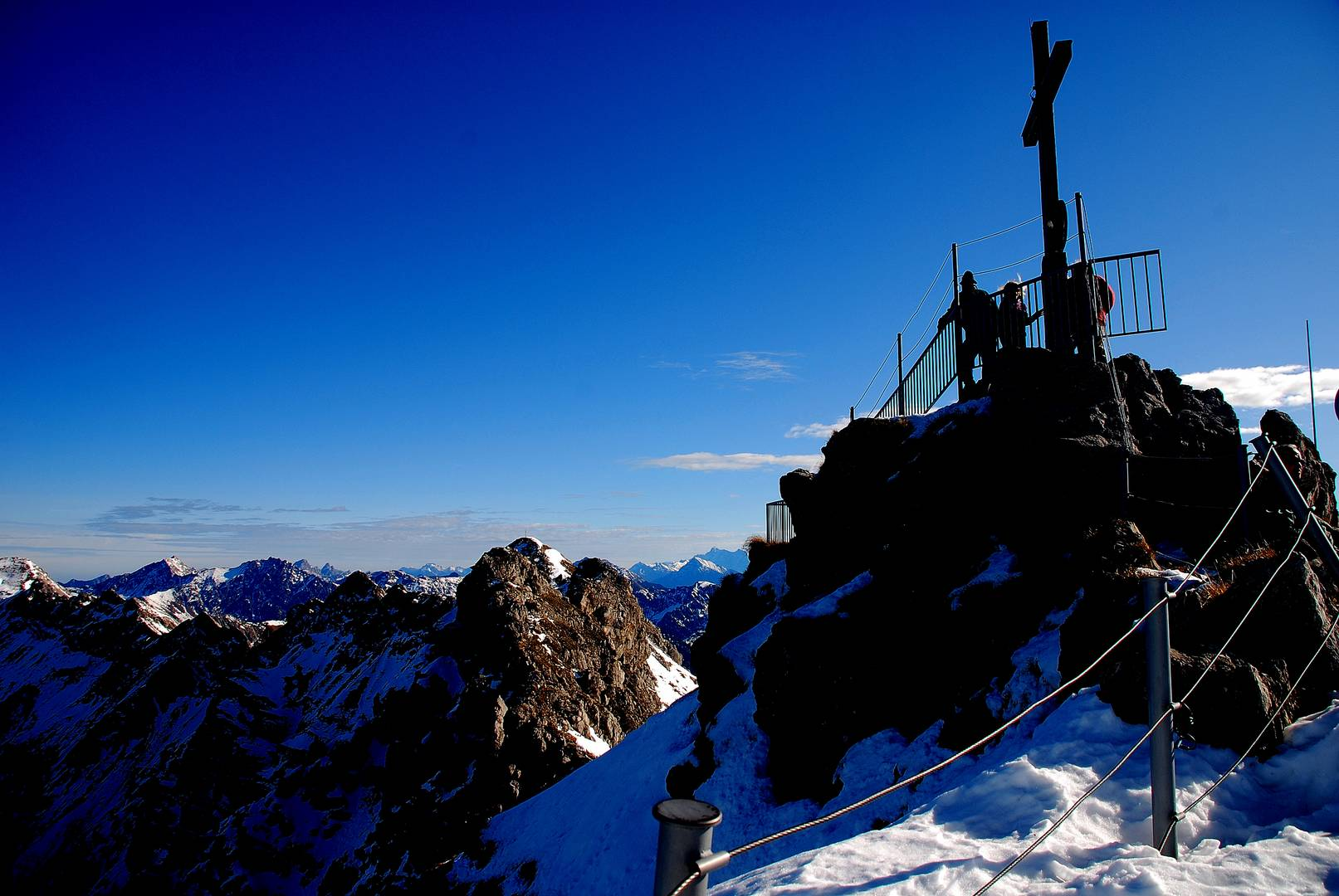 Kein Nebel am Nebelhorn .