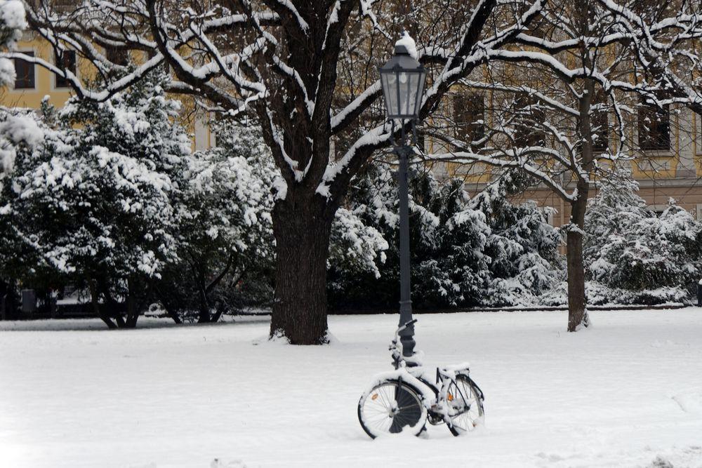 Kein Radfahrerwetter