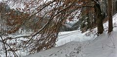 Kein Schnee von gestern, sondern von heute am Karfreitag!
