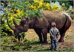 Keine Angst vor großen Tieren?...