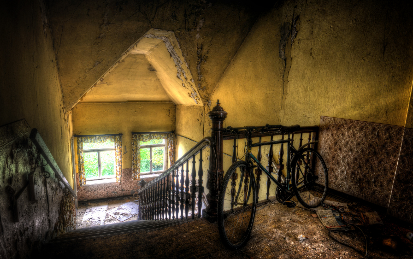 Keine Fahrräder im Treppenhaus!